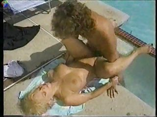 Hardcore MILF Outdoor Pool Pornstar Vintage