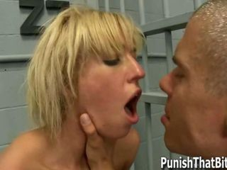 Bad Teen Victoria White gets Forced Analed in Jail