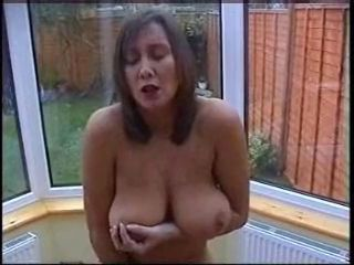 Amateur Big Tits Homemade Masturbating MILF Natural Nipples SaggyTits Wife