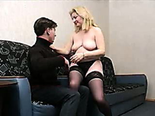 Amateur Homemade Mature Mom Old and Young Russian Stockings