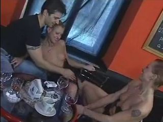 Drunk MILF Sister Threesome Twins