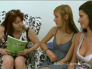 Lesbian Mature Mom Old and Young Teacher Teen