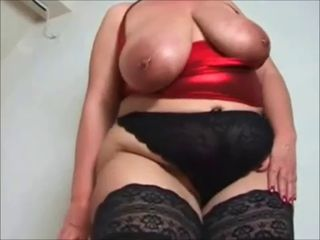 Big Busty MILF Stockings