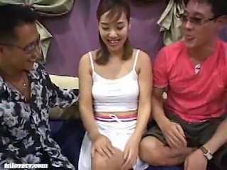 Asian Korean MILF Threesome