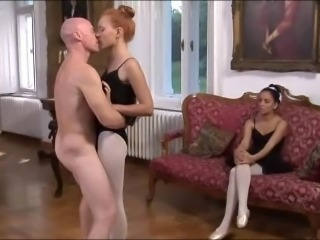 European French Pantyhose Teen Threesome