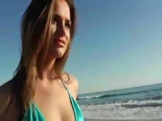 Amazing Bikini Babe Pornstar Tori Black rough pov sex on couch