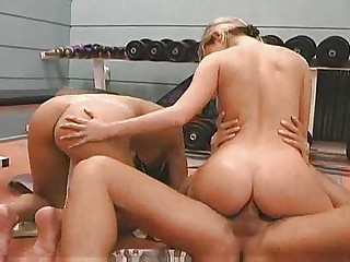 Ass Riding Sport Teen Threesome