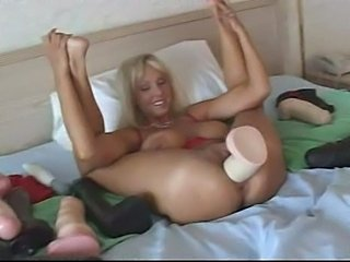Dildo Masturbating MILF SaggyTits Toy