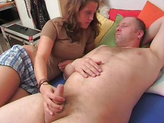 Handjob Small cock Teen