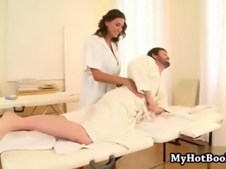 Big Tits Massage MILF