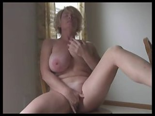 Amateur Big Tits Masturbating MILF Natural Solo