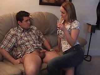 Jeans MILF Small cock Wife