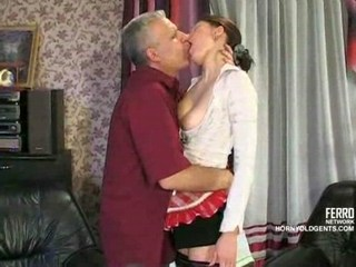 Daddy Maid Old and Young Russian Teen