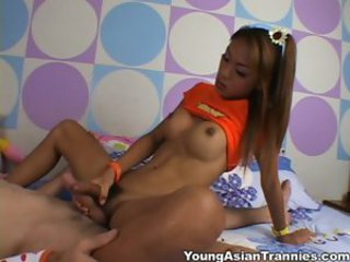 Young Asian Tranny -
