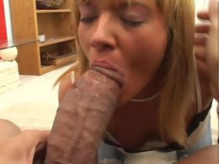 White blonde daughter fucked by black stud