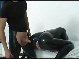 Rubberdoll fucked