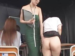 Asian Japanese MILF School Student Teacher