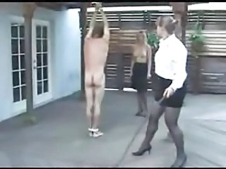 A guy Gets a Whiping from a Hot  Mistress .