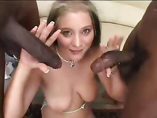 Big cock Handjob Interracial Teen Threesome