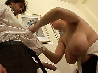 BBW Big Tits European Italian Maid MILF