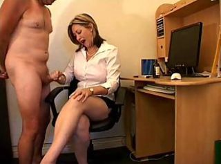 Domination with handjob for dude slaves