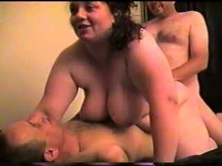 Amateur BBW Big Tits Double Penetration Homemade Threesome