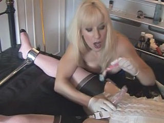 """Madame C teases, shaves and penetrates MadamesAngelica"""" class=""""th-mov"""