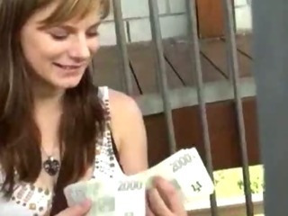 Amazing Amateur Girl Takes Money And Rid...