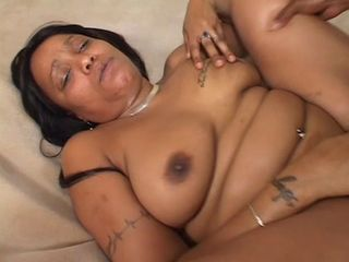BBW Ebony MILF Piercing SaggyTits Tattoo