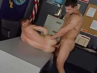 gay sucks Mr. Prick in office :D