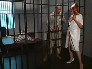 Babe Nurse Prison Redhead Threesome Uniform