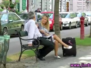 Daddy Old and Young Outdoor Public