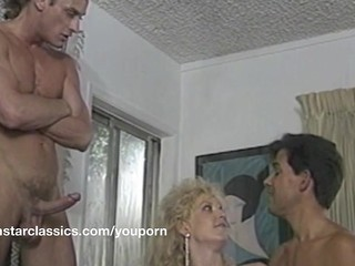 Double Penetration MILF Pornstar Threesome Vintage