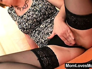 Mature Mom Panty Stockings