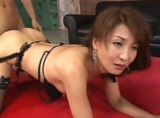 Mature japanese lady first anal
