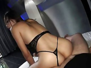 Pinoy ladyboy enjoys a dick in her booty