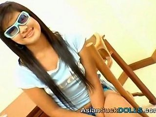 Asian Long hair Teen