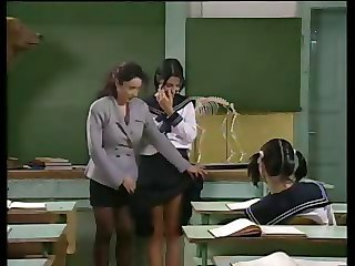 Lesbian MILF Old and Young School Student Teacher Teen Uniform