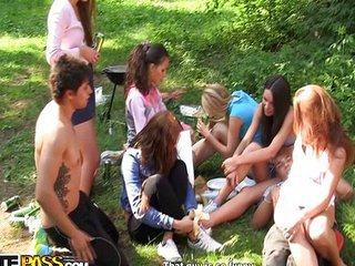 Groupsex Orgy Outdoor Party Teen