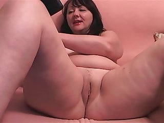Chubby MILF Russian Shaved