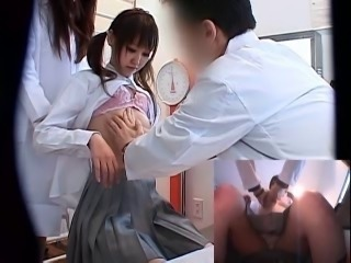 Asian Doctor Japanese School Teen Uniform