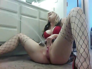 MILF Stockings Squirt