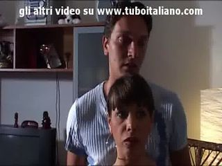 Amateur Cute European Italian Mom