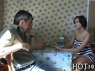 Cuckold Old and Young Russian Teen