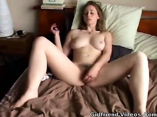 British European Masturbating Teen