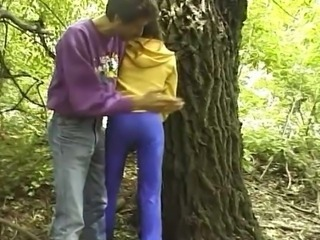 Blowjob Outdoor Skinny Teen