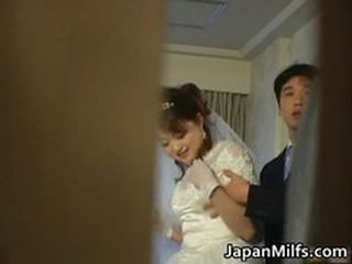 Asian Bride Japanese MILF Voyeur Wife