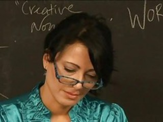 Glasses MILF School Teacher