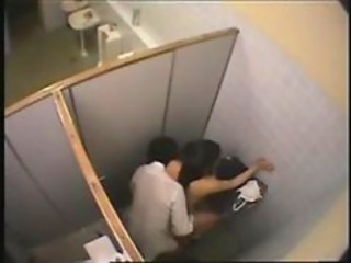 "sneaking student fucking in public toilet"" target=""_blank"