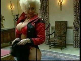 Amazing Big Tits Latex MILF Pornstar Vintage